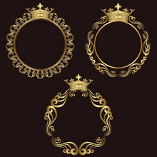 Golden Royal Frames