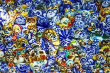 Ceramic Animal Figurines. Smal...
