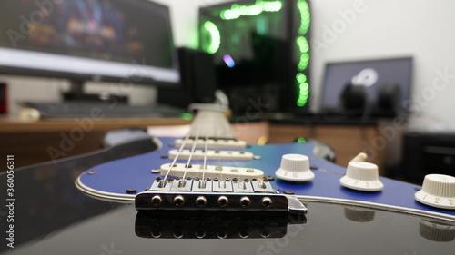 Photo guitarra pc gamer