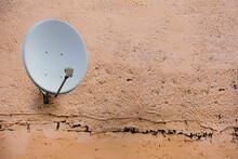 Satellite Dish Antenna On The ...