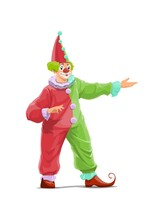 Big Top Circus Clown Cartoon V...