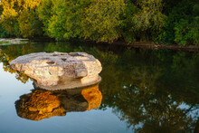 The Round Rock Of Round Rock, Texas