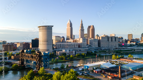 Cleveland Ohio Canvas-taulu