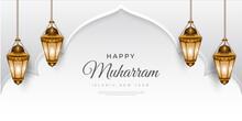 Happy Muharram Islamic Background