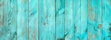 Weathered Blue Wooden Backgrou...