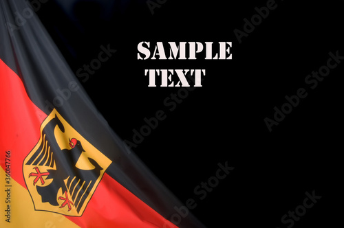 Flag of Germany Wallpaper Mural