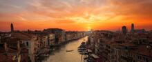 Amazing Sunset Over Venice Can...