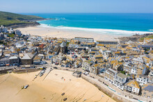 Aerial Photograph Of St Ives, ...