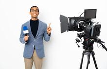 Reporter African American Man ...