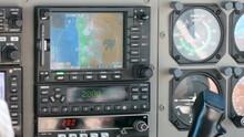 Detailaufnahme Von Cockpitinstrumente Einer Cessna Grand Caravan (Cessna 208 Caravan)