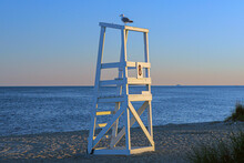 Life Guard Stations On Cape Co...