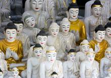 Stpne Buddhas In Myanmar