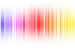 Leinwandbild Motiv Light motion abstract stripes background, art bright.