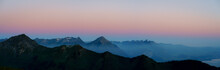 Panorama Of The Swiss Alps Dur...