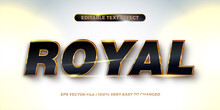 Editable Text Effect - Royal T...