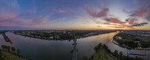 Panoramic Aerial Picture Of Ma...