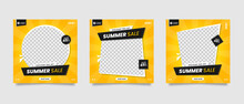 Yellow Summer Sale Social Medi...