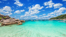Tropical Island. View Of The A...