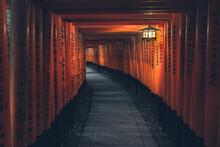 Fushimi Inari Taisha With Ston...