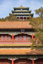 Pavilions In Jingshan Park, Be...