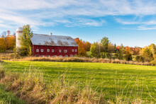 Idyllic Rural Landscape With A...