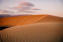 Dunas De Maspalomas At Sunset,...
