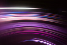 Full Frame Abstract Image Of Purple Light Trails