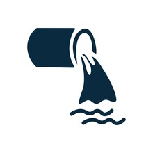 Waste Water Icon , Drainage , Pipeline