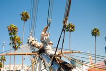 Tall Sailing Ship In Festival ...
