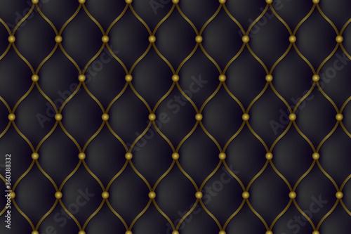 Fototapety, obrazy: Luxury leather sofa background.