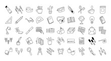 Bundle Of Scrapbooking Set Icons