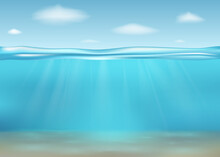 Realistic Deep Underwater Sea
