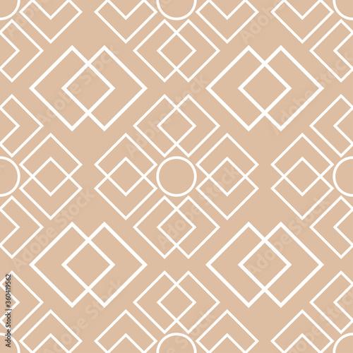 Tapeta beżowa  geometryczny-wzor-bialy-wzor-na-brazowym-bezowym-tle
