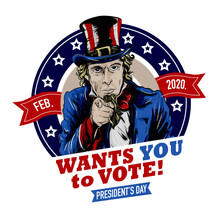Uncle Sam Wants You To Vote On...