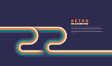 Minimalist Retro Background De...