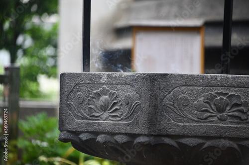 Fényképezés 石の常香炉