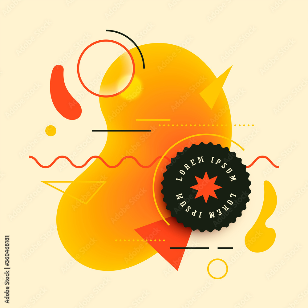 Simple style abstract background design. Vector illustration.