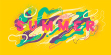 Colorful Abstract Summer Backg...