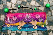 Glass Balls, Spirals And Karatalas For Show