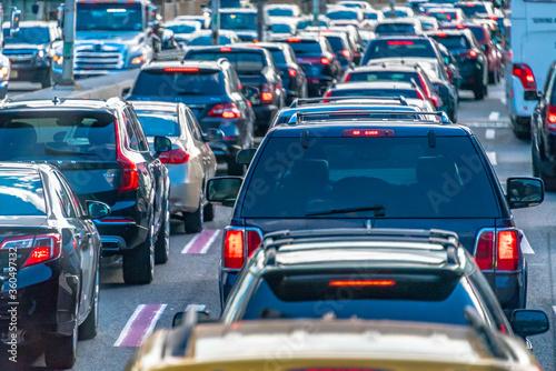 Fototapeta New York City Traffic at the rush hour, USA