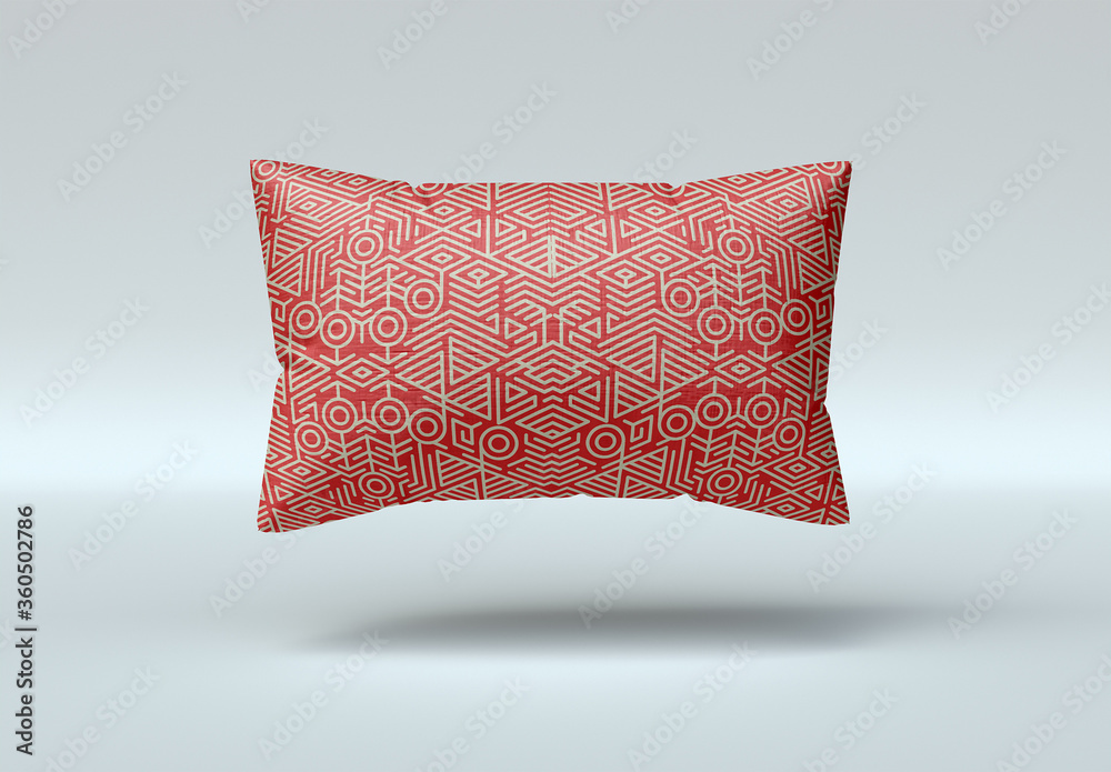 Fototapeta Rectangle Pillow Mockup