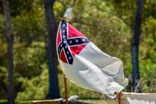 The Confederate Flag Flying Ov...