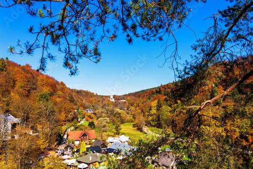 Fototapeta Ojcow national park and town. Ojcow is located just few kilometer from Krakow - the former capital of Poland. obraz