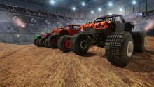 Monster Truck On Stadium.