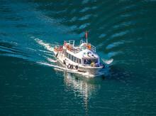 Boat At Tianchi Lake Tianshan ...