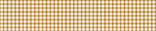 Seamless Geometric Gingham Banner Pattern. French Picnic Linen Shabby Chic Style. Classic Woven Texture Border Background.  Vintage Provence Country Check Textile Ribbon Trim