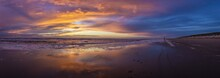 Panoramic View Of Seascape Bea...