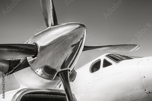 Cuadros en Lienzo propeller of an sports plane