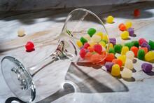 Granulated Sugar Coated Gumdrops