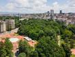 Aerial view of city of Sofia, Bulgaria